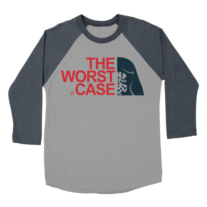 The Worst Case - Maul Men's Baseball Triblend Longsleeve T-Shirt by zoelone's Artist Shop