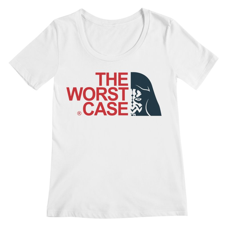 The Worst Case - Maul Women's Scoopneck by zoelone's Artist Shop