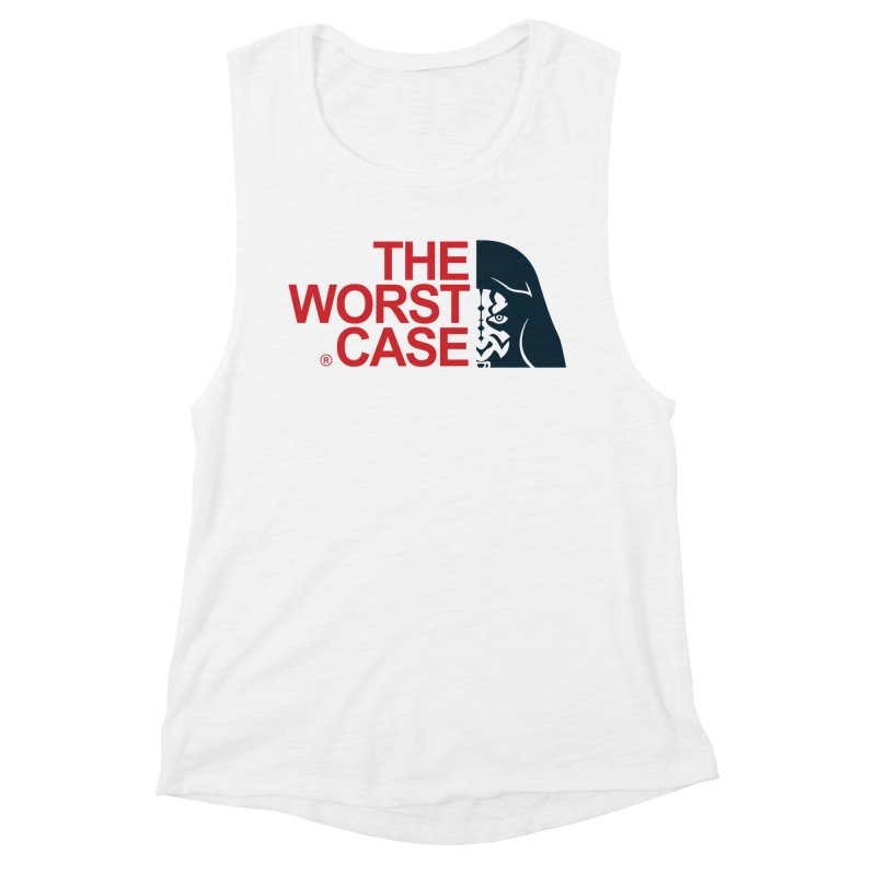 The Worst Case - Maul Women's Muscle Tank by zoelone's Artist Shop