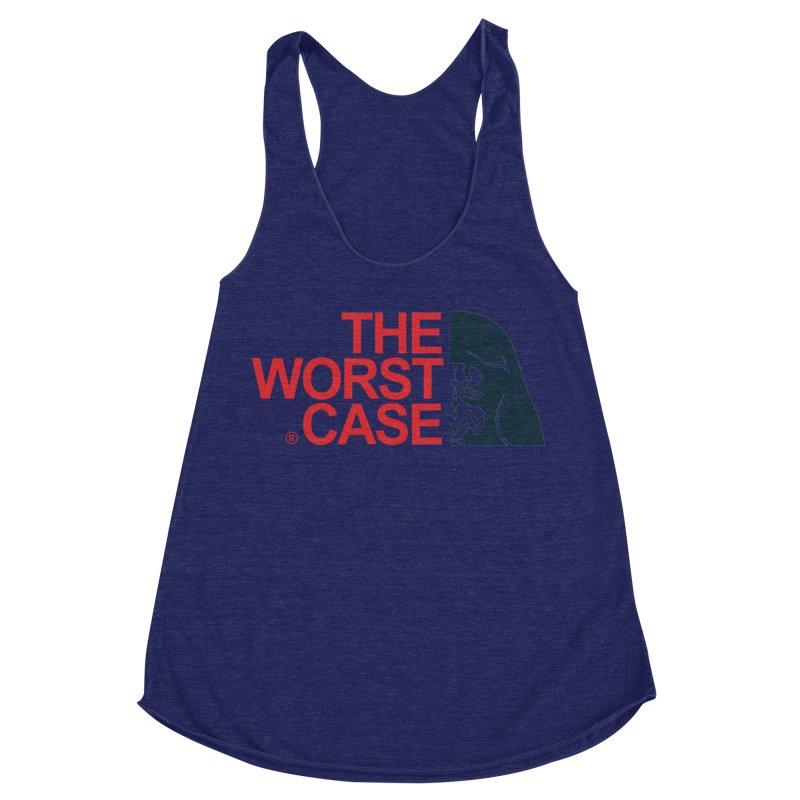 The Worst Case - Maul Women's Racerback Triblend Tank by zoelone's Artist Shop