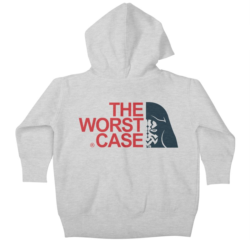 The Worst Case - Maul Kids Baby Zip-Up Hoody by zoelone's Artist Shop