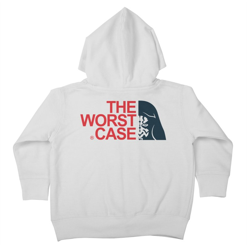 The Worst Case - Maul Kids Toddler Zip-Up Hoody by zoelone's Artist Shop