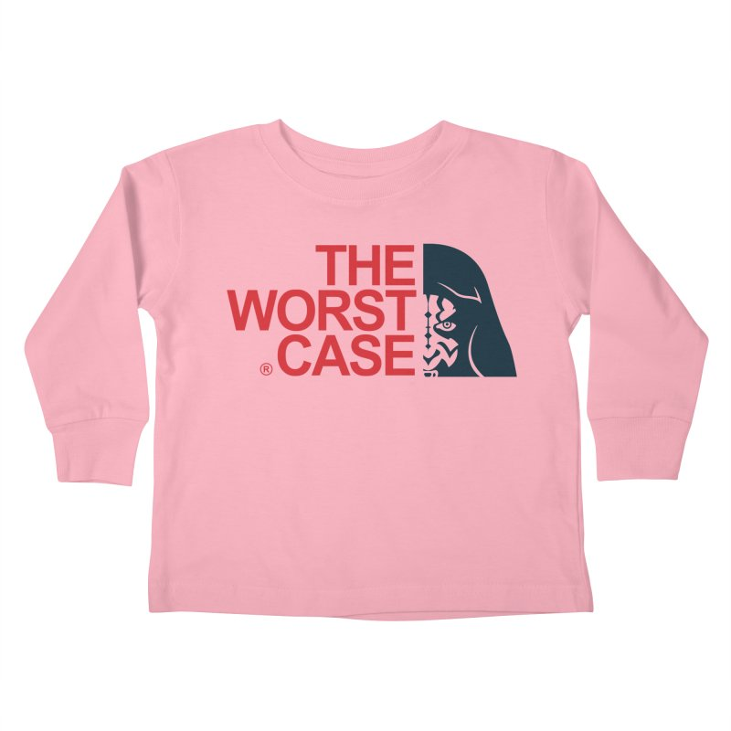 The Worst Case - Maul Kids Toddler Longsleeve T-Shirt by zoelone's Artist Shop