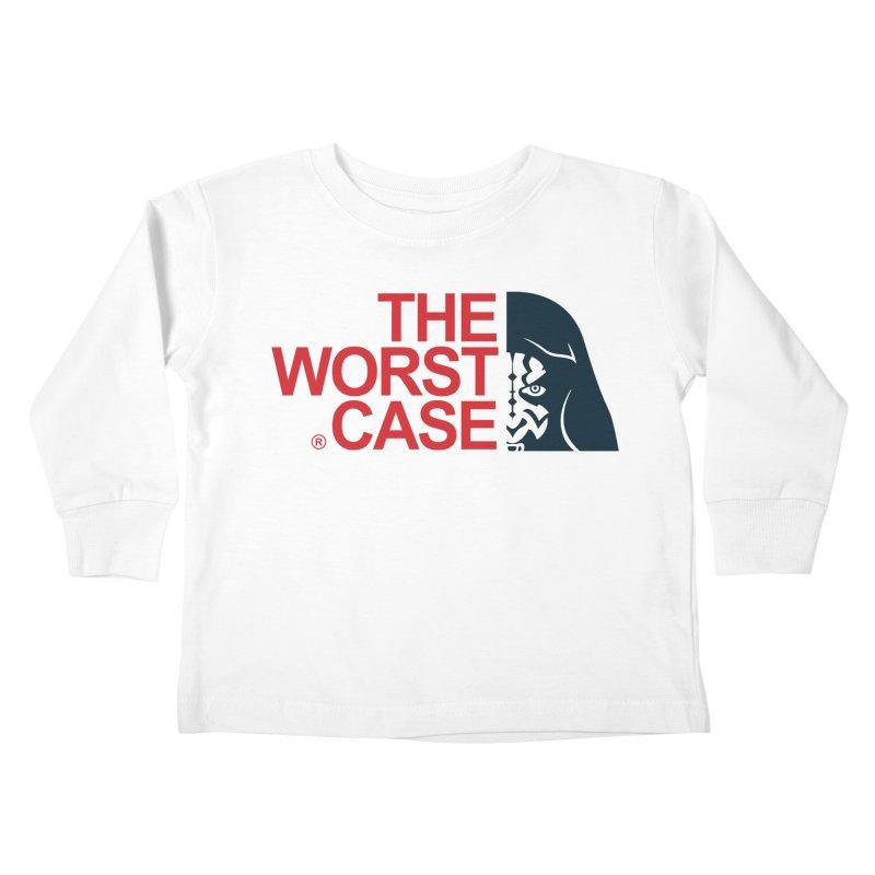 The Worst Case - Maul Kids Toddler Longsleeve T-Shirt by zoelone's Artist Shop
