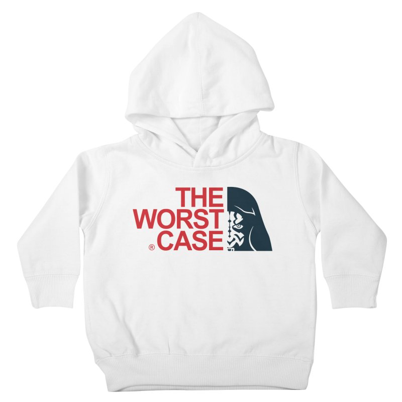 The Worst Case - Maul Kids Toddler Pullover Hoody by zoelone's Artist Shop