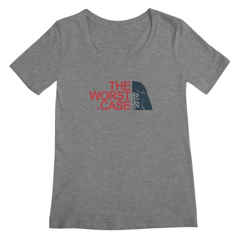 The Worst Case - Maul Women's Regular Scoop Neck by zoelone's Artist Shop