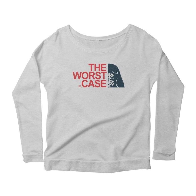 The Worst Case - Maul Women's Longsleeve Scoopneck  by zoelone's Artist Shop