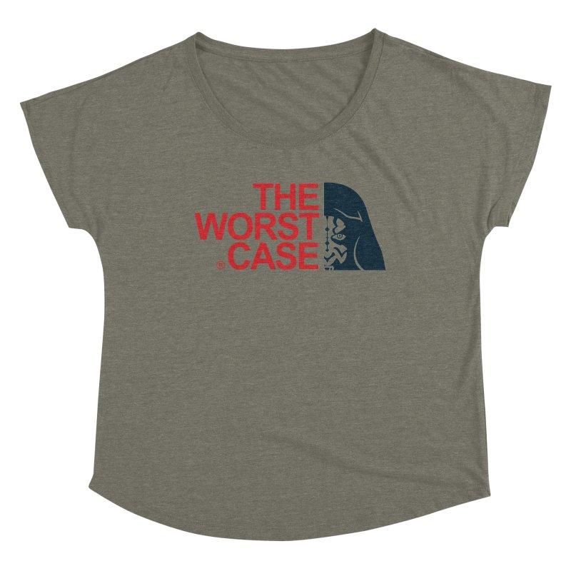 The Worst Case - Maul Women's Dolman Scoop Neck by zoelone's Artist Shop