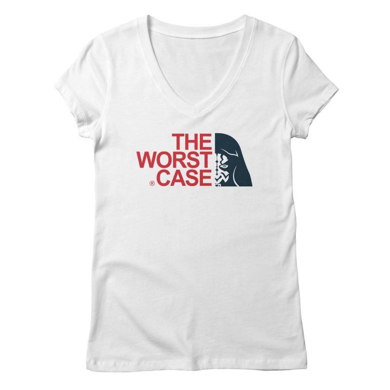 The Worst Case - Maul Women's Regular V-Neck by zoelone's Artist Shop
