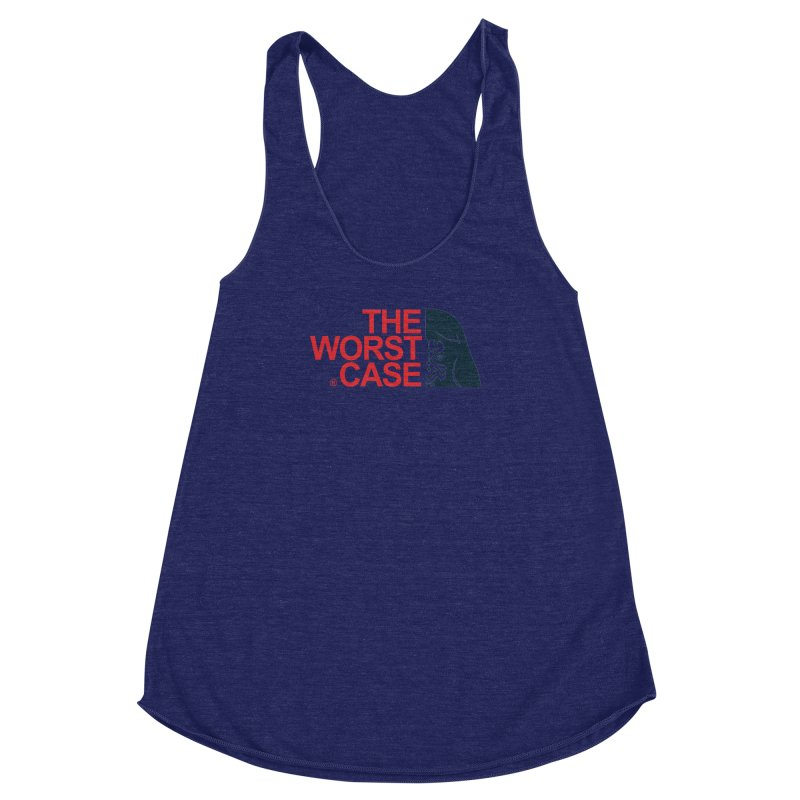The Worst Case - Maul Women's Racerback Triblend Tank by zoelone's Artist Shop