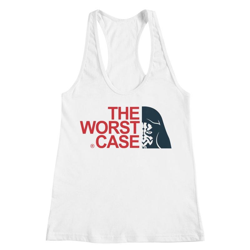 The Worst Case - Maul Women's Racerback Tank by zoelone's Artist Shop