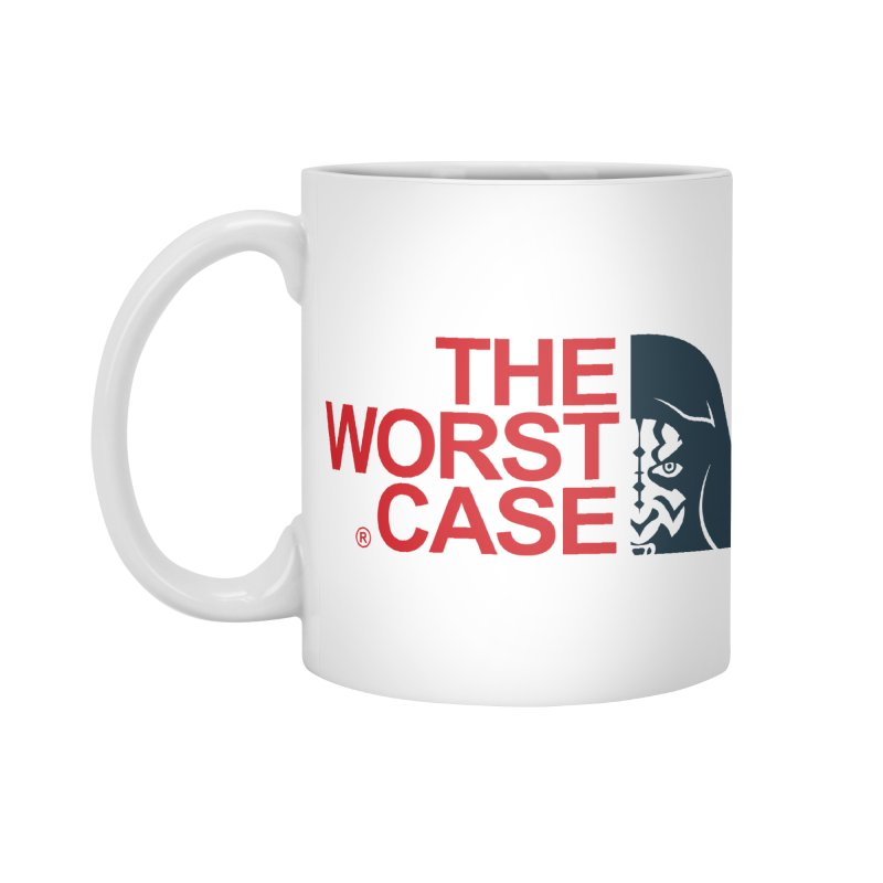 The Worst Case - Maul Accessories Standard Mug by zoelone's Artist Shop