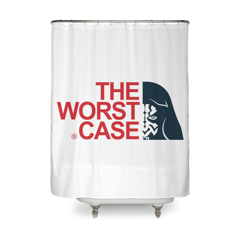 The Worst Case - Maul Home Shower Curtain by zoelone's Artist Shop