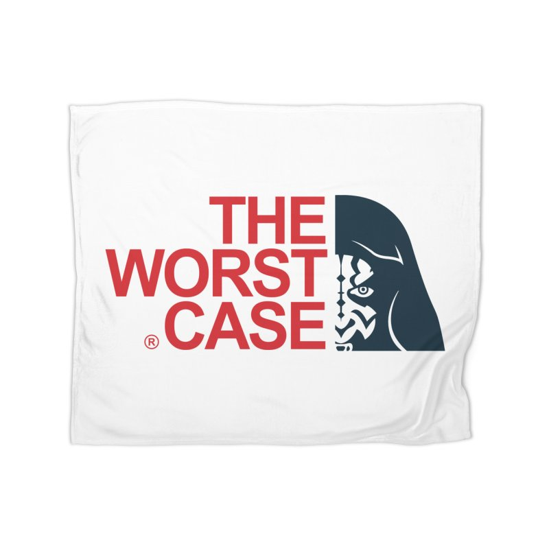 The Worst Case - Maul Home Fleece Blanket Blanket by zoelone's Artist Shop