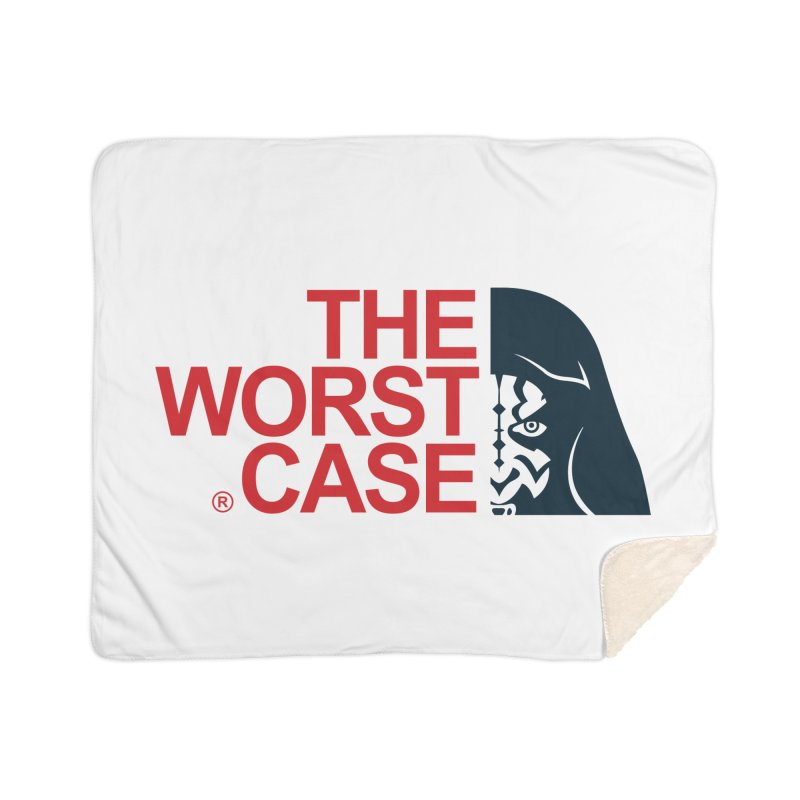 The Worst Case - Maul Home Sherpa Blanket Blanket by zoelone's Artist Shop