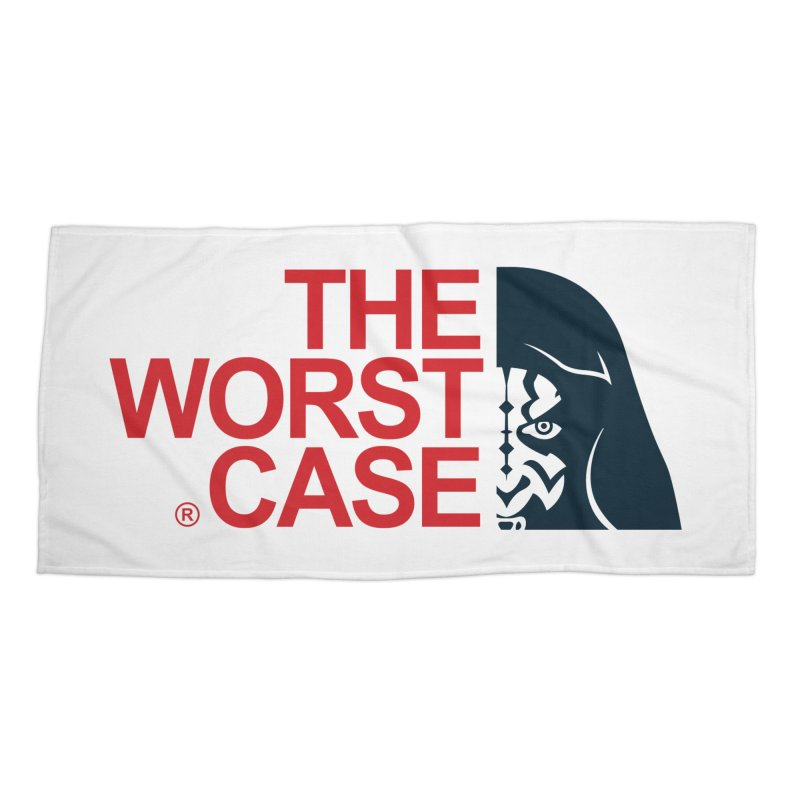 The Worst Case - Maul Accessories Beach Towel by zoelone's Artist Shop