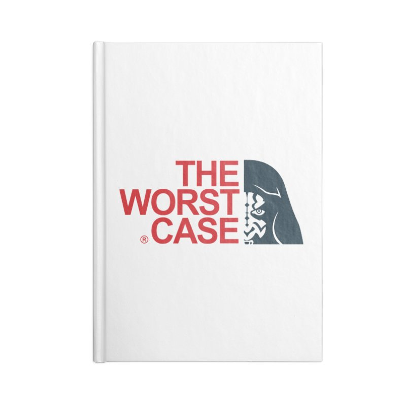 The Worst Case - Maul Accessories Lined Journal Notebook by zoelone's Artist Shop