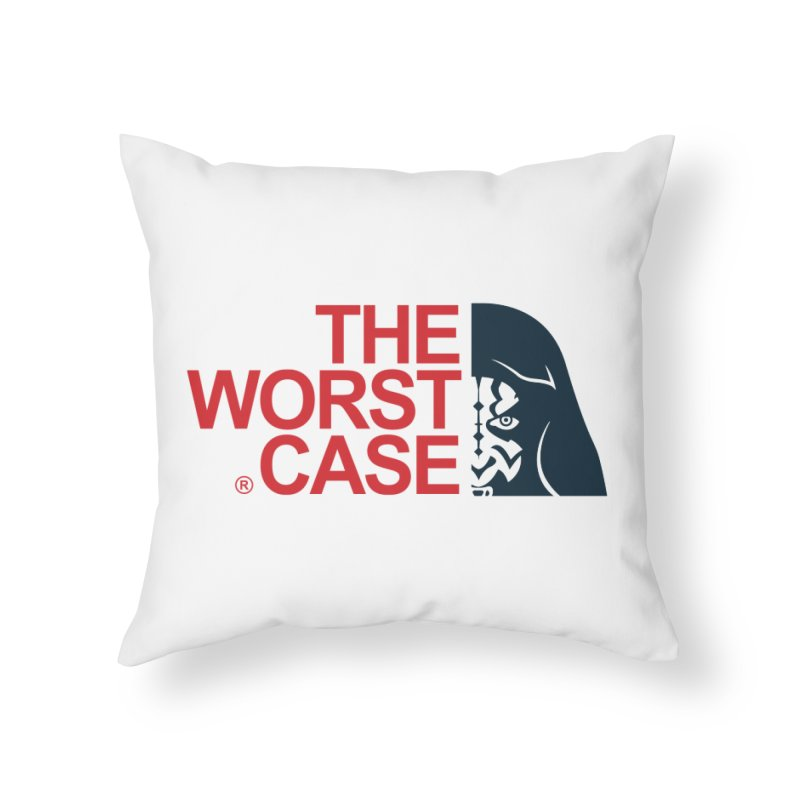 The Worst Case - Maul Home Throw Pillow by zoelone's Artist Shop