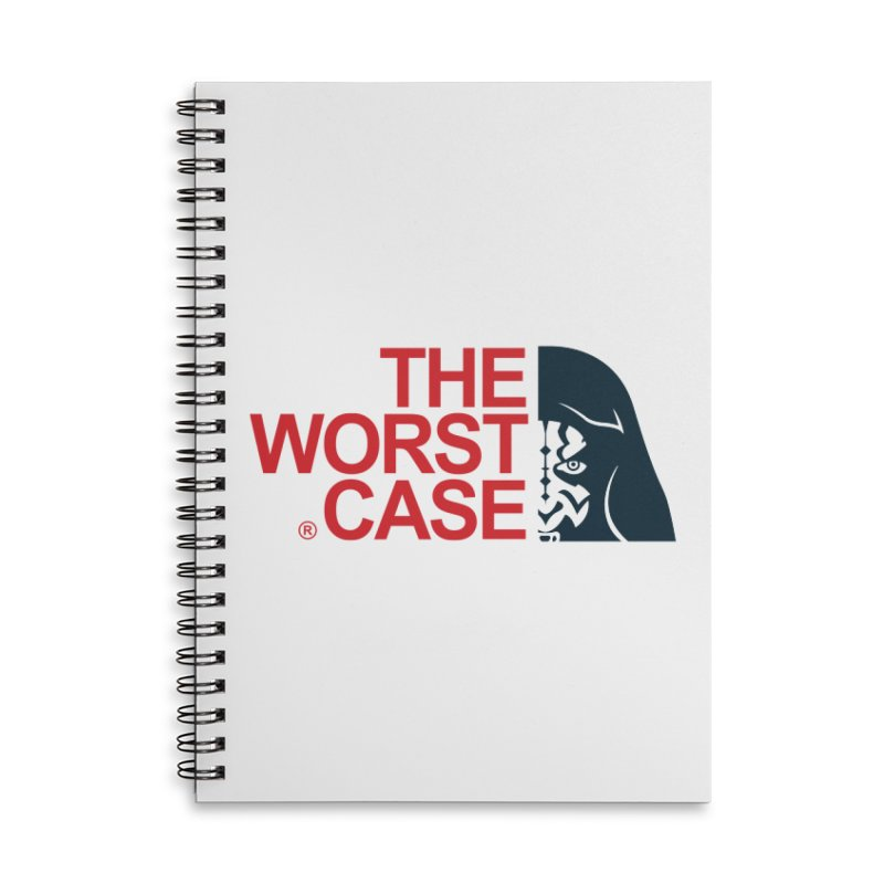 The Worst Case - Maul Accessories Lined Spiral Notebook by zoelone's Artist Shop