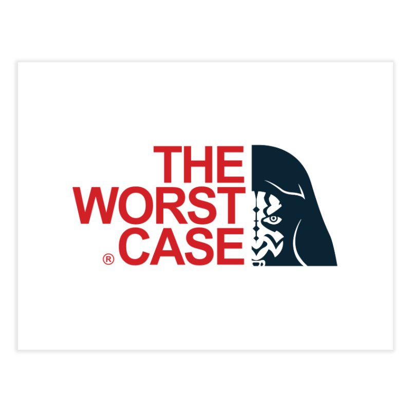 The Worst Case - Maul Home Fine Art Print by zoelone's Artist Shop