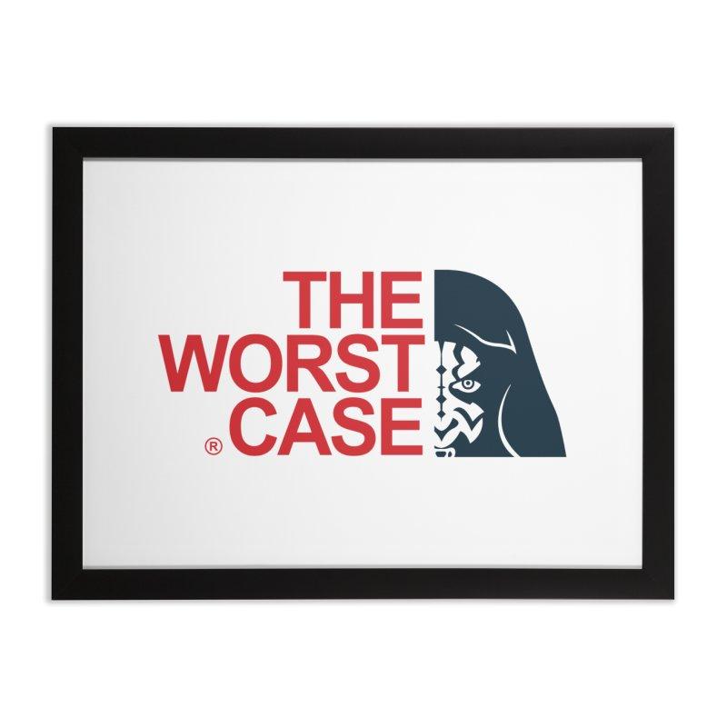 The Worst Case - Maul Home Framed Fine Art Print by zoelone's Artist Shop