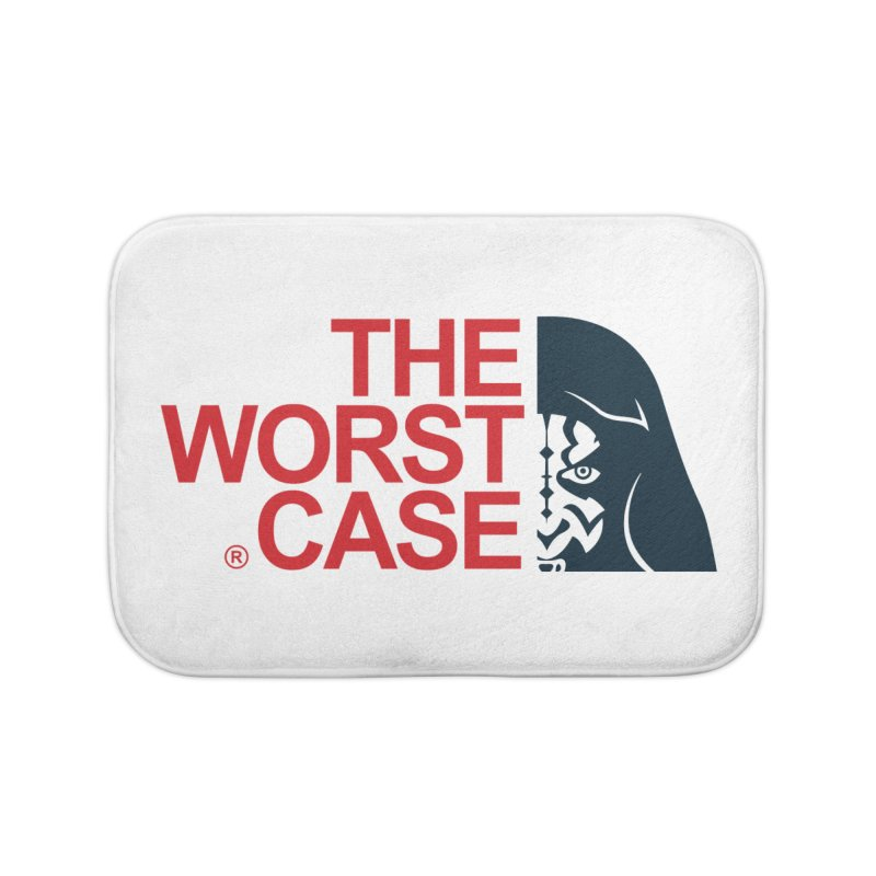 The Worst Case - Maul Home Bath Mat by zoelone's Artist Shop