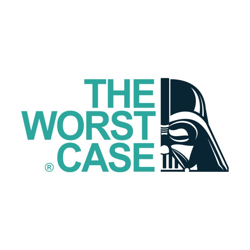The Worst Case - Darth Vader Men's T-Shirt by zoelone's Artist Shop