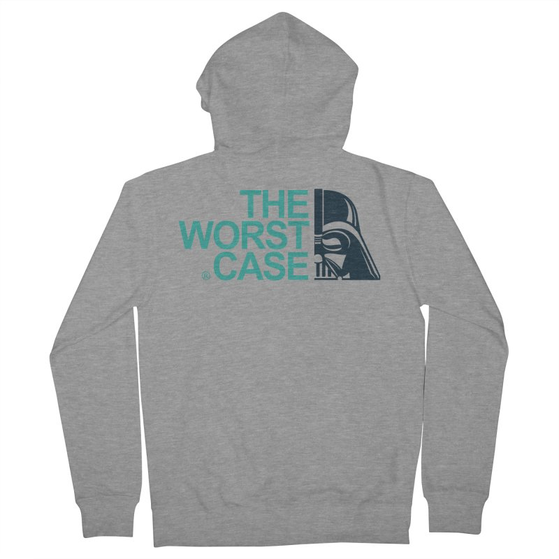 The Worst Case - Darth Vader Women's French Terry Zip-Up Hoody by zoelone's Artist Shop