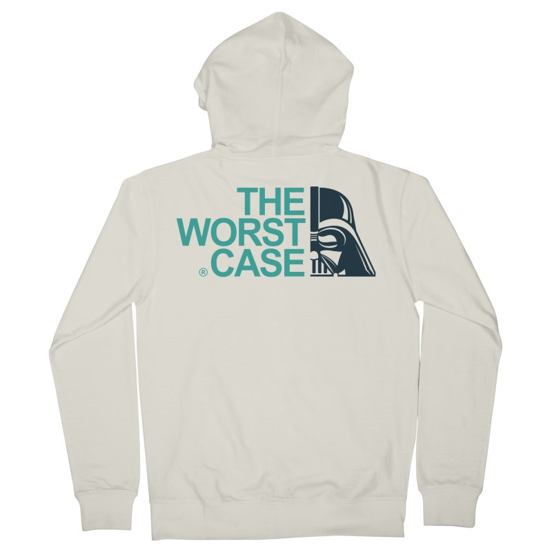 The Worst Case - Darth Vader Men's French Terry Zip-Up Hoody by zoelone's Artist Shop