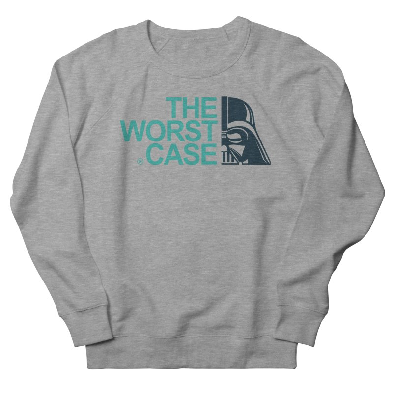 The Worst Case - Darth Vader Men's French Terry Sweatshirt by zoelone's Artist Shop