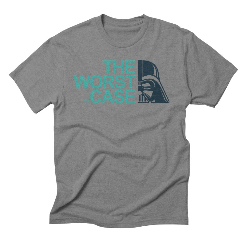 The Worst Case - Darth Vader Men's Triblend T-Shirt by zoelone's Artist Shop