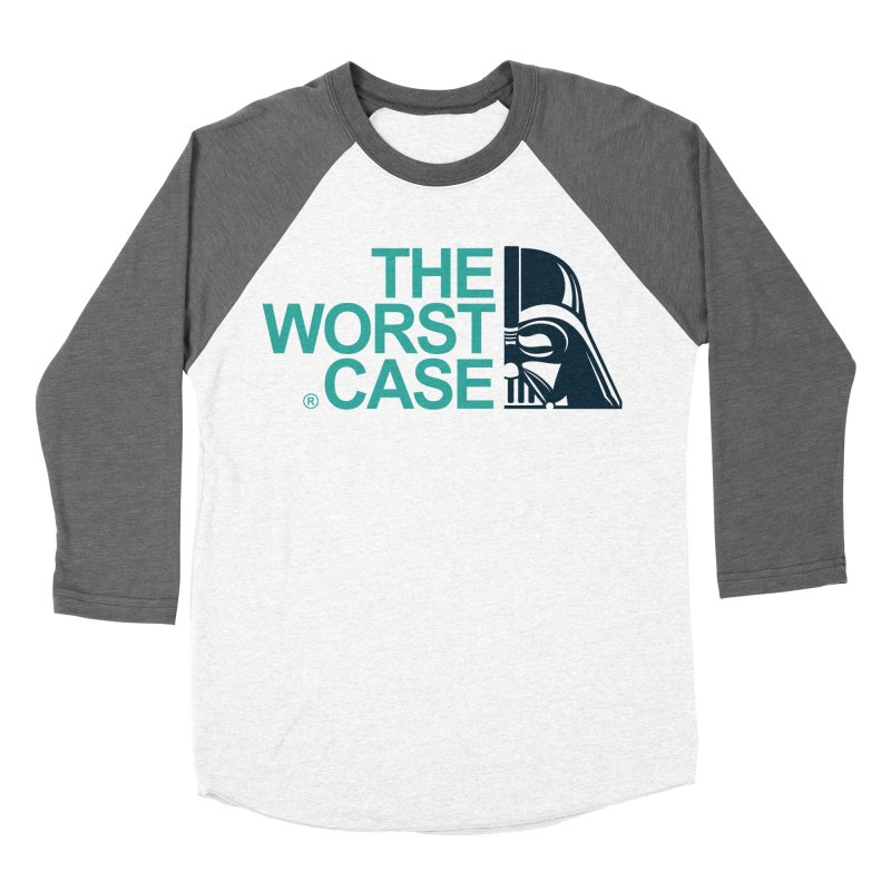 The Worst Case - Darth Vader Women's Baseball Triblend T-Shirt by zoelone's Artist Shop