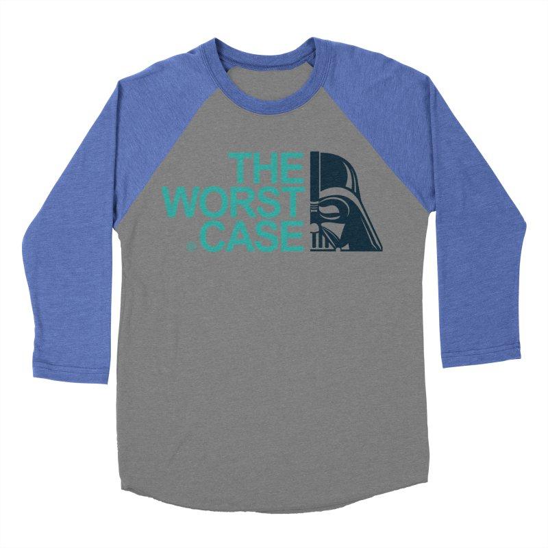 The Worst Case - Darth Vader Women's Baseball Triblend T-Shirt by zoelone's Artist Shop