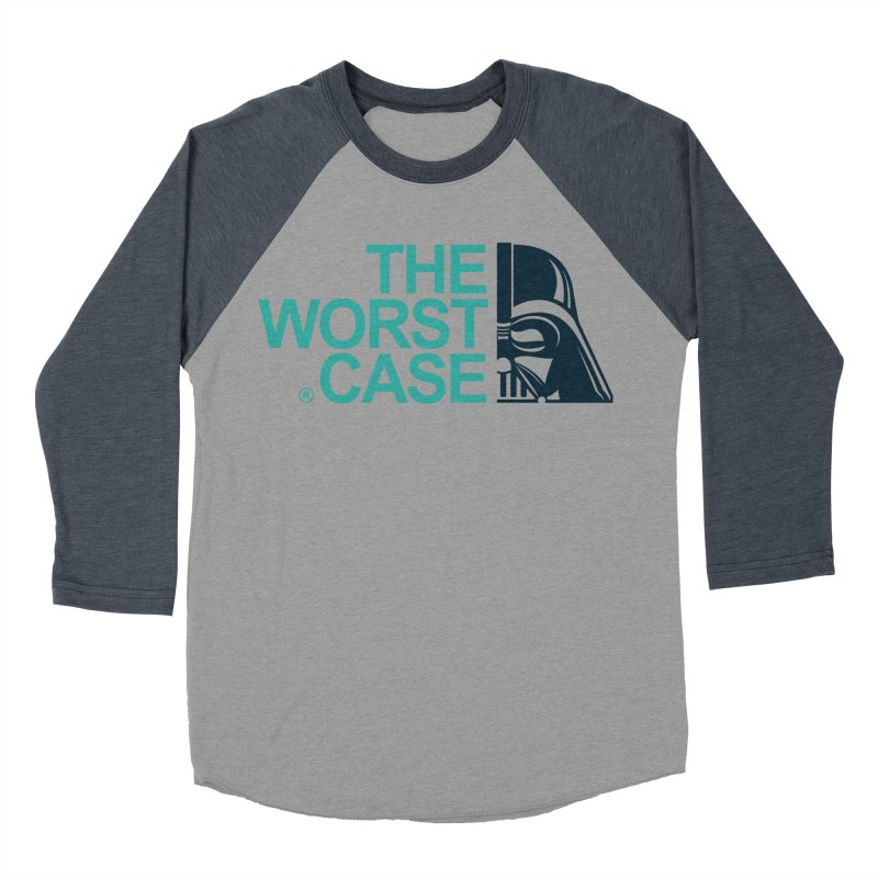 The Worst Case - Darth Vader Women's Baseball Triblend Longsleeve T-Shirt by zoelone's Artist Shop