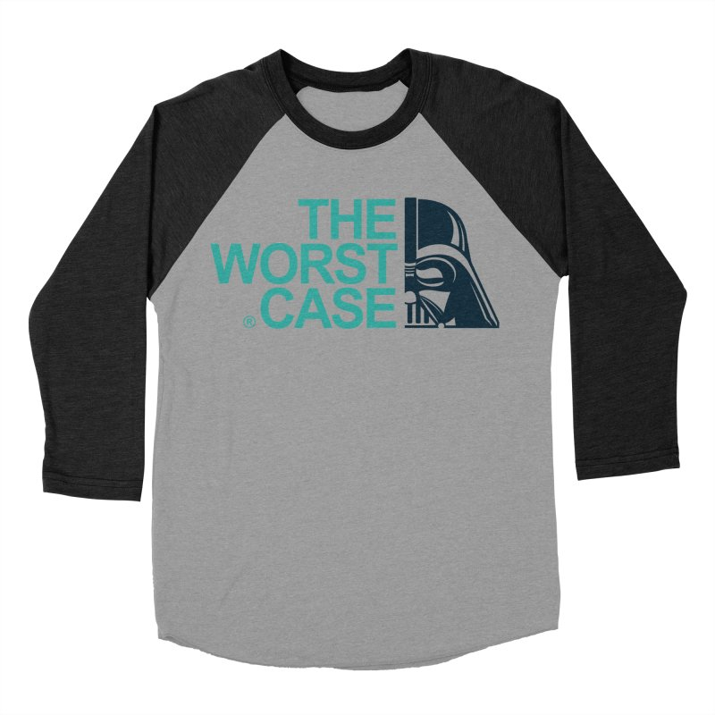 The Worst Case - Darth Vader Men's Baseball Triblend Longsleeve T-Shirt by zoelone's Artist Shop