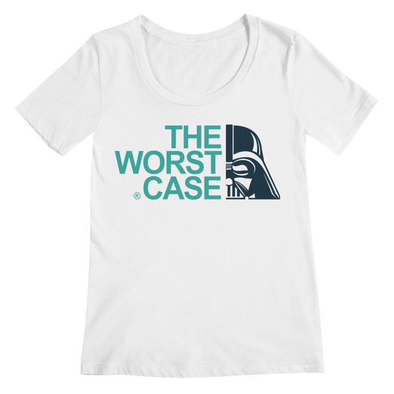 The Worst Case - Darth Vader Women's Regular Scoop Neck by zoelone's Artist Shop
