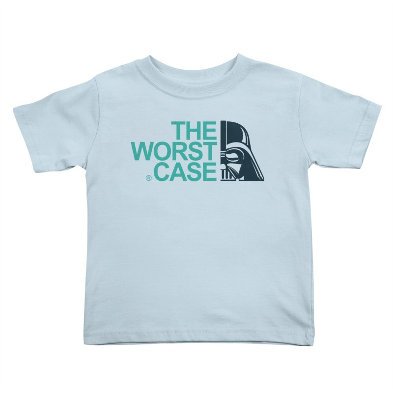 The Worst Case - Darth Vader Kids Toddler T-Shirt by zoelone's Artist Shop