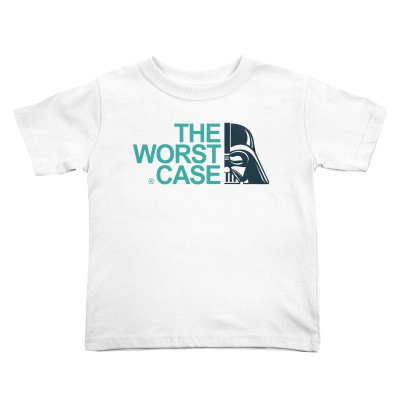The Worst Case - Darth Vader Kids Toddler T-Shirt by zoelone's Artist Shop