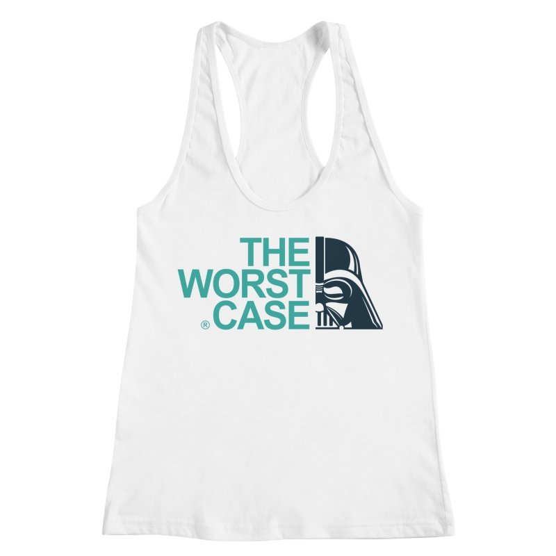 The Worst Case - Darth Vader Women's Racerback Tank by zoelone's Artist Shop