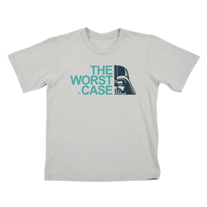 The Worst Case - Darth Vader Kids T-Shirt by zoelone's Artist Shop