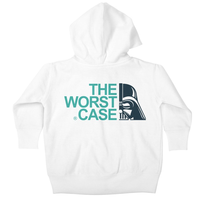 The Worst Case - Darth Vader Kids Baby Zip-Up Hoody by zoelone's Artist Shop