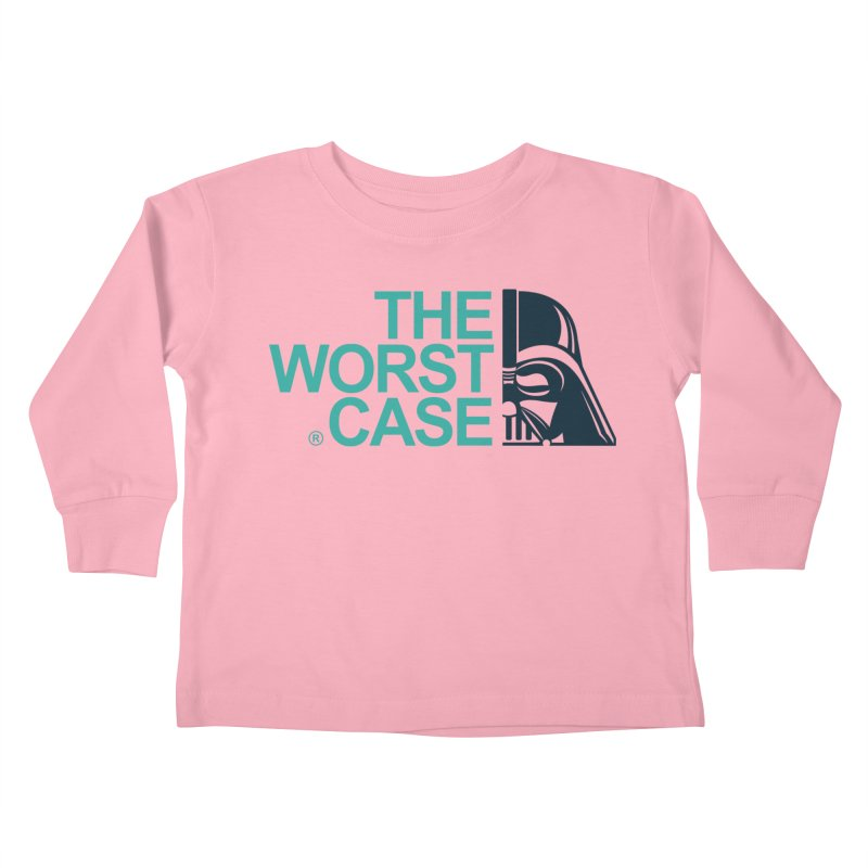 The Worst Case - Darth Vader Kids Toddler Longsleeve T-Shirt by zoelone's Artist Shop