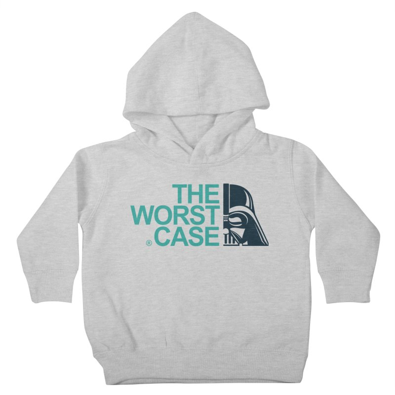 The Worst Case - Darth Vader Kids Toddler Pullover Hoody by zoelone's Artist Shop