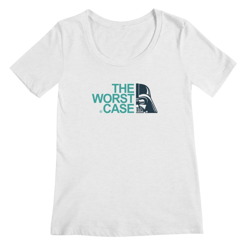 The Worst Case - Darth Vader Women's Scoopneck by zoelone's Artist Shop