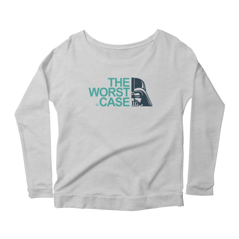 The Worst Case - Darth Vader Women's Scoop Neck Longsleeve T-Shirt by zoelone's Artist Shop