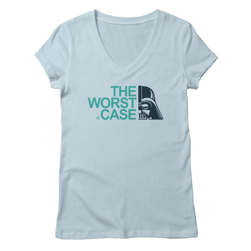 The Worst Case - Darth Vader Women's V-Neck by zoelone's Artist Shop
