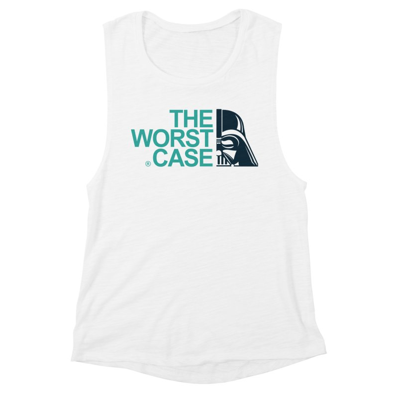 The Worst Case - Darth Vader Women's Muscle Tank by zoelone's Artist Shop