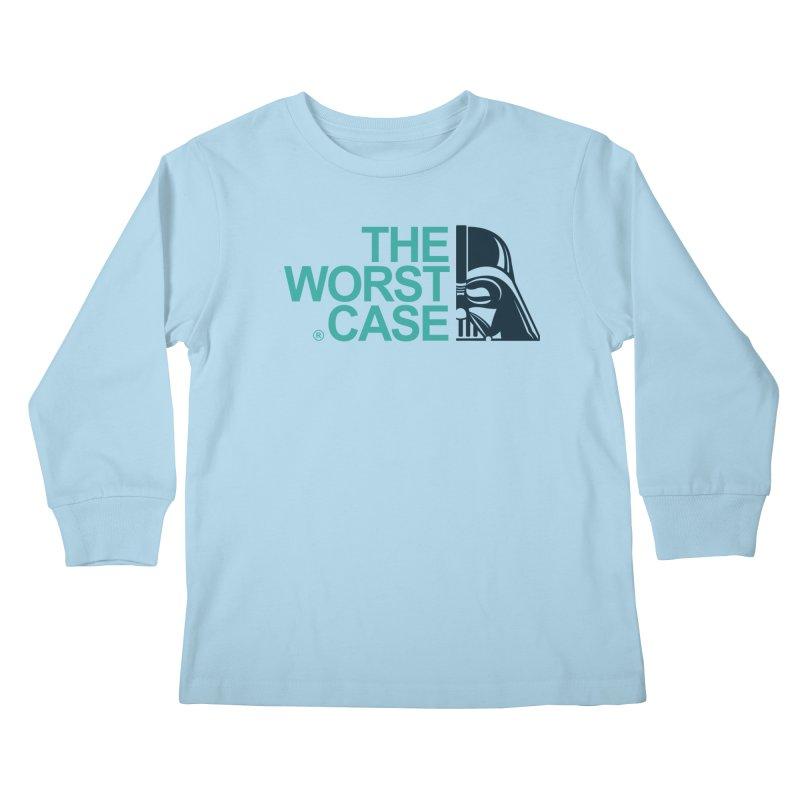 The Worst Case - Darth Vader Kids Longsleeve T-Shirt by zoelone's Artist Shop
