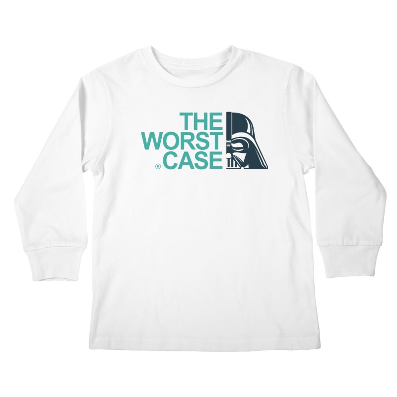 The Worst Case - Darth Vader Kids Longsleeve T-Shirt by zoelone's Artist Shop