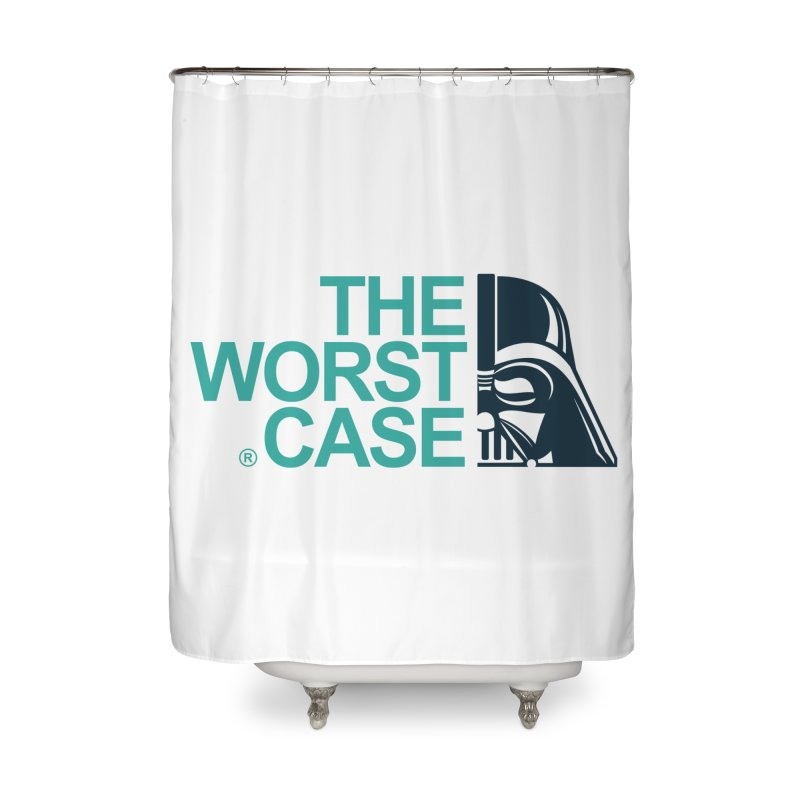 The Worst Case - Darth Vader Home Shower Curtain by zoelone's Artist Shop